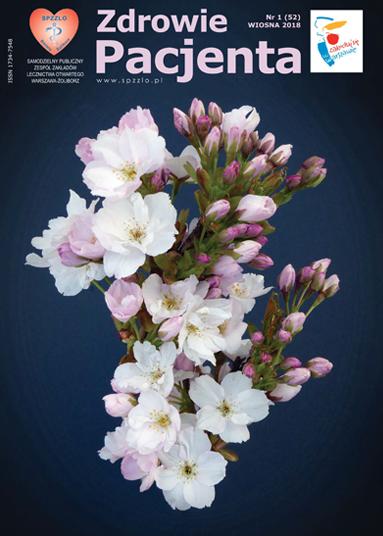 Wydanie kwartalnika Zdrowie Pacjenta wiosna 2018 roku