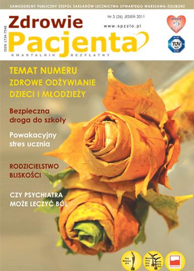 Wydanie kwartalnika Zdrowie Pacjenta jesień 2011 roku