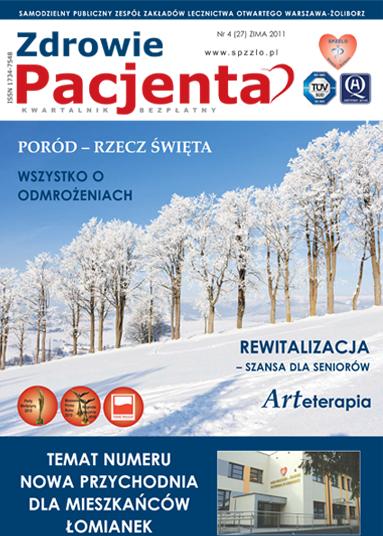 Wydanie kwartalnika Zdrowie Pacjenta zima 2011 roku
