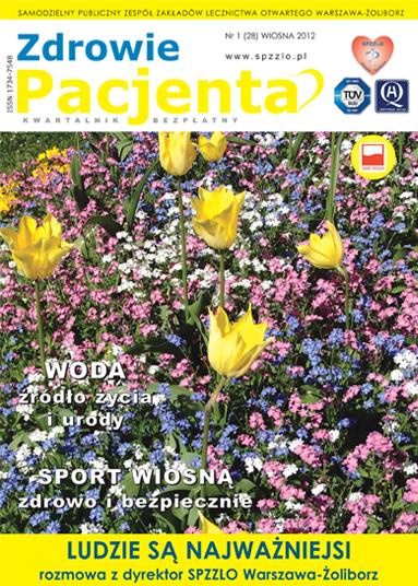 Wydanie kwartalnika Zdrowie Pacjenta wiosna 2012 roku