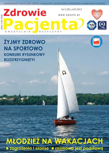 Wydanie kwartalnika Zdrowie Pacjenta lato 2012 roku