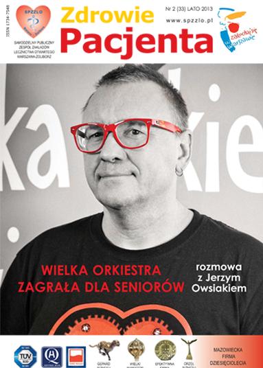 Wydanie kwartalnika Zdrowie Pacjenta lato 2013 roku