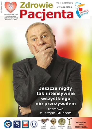 Wydanie kwartalnika Zdrowie Pacjenta jesień 2013 roku