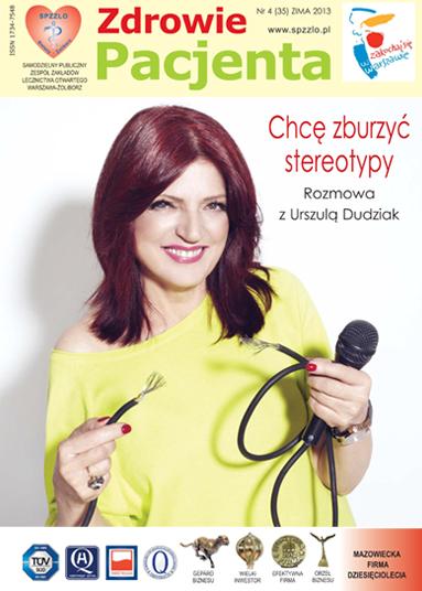 Wydanie kwartalnika Zdrowie Pacjenta zima 2013 roku