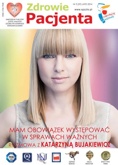 Wydanie kwartalnika Zdrowie Pacjenta lato 2014 roku