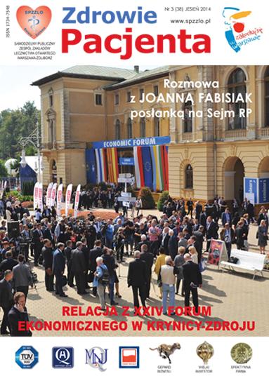 Wydanie kwartalnika Zdrowie Pacjenta jesień 2014 roku