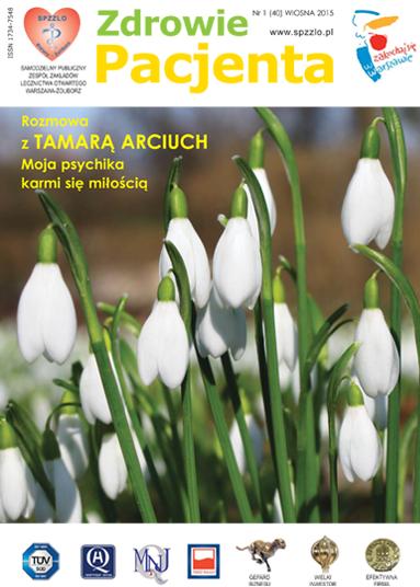 Wydanie kwartalnika Zdrowie Pacjenta wiosna 2015 roku