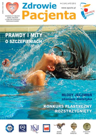 Wydanie kwartalnika Zdrowie Pacjenta lato 2015 roku