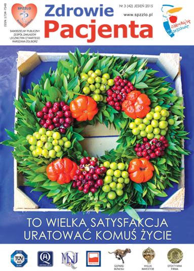 Wydanie kwartalnika Zdrowie Pacjenta jesień 2015 roku