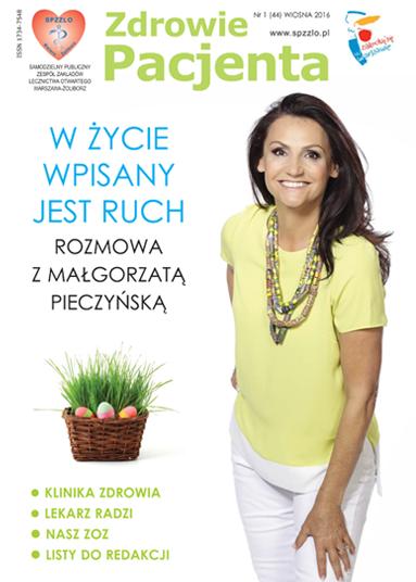 Wydanie kwartalnika Zdrowie Pacjenta wiosna 2016 roku