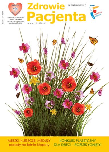 Wydanie kwartalnika Zdrowie Pacjenta lato 2017 roku