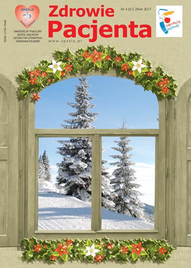 Wydanie kwartalnika Zdrowie Pacjenta zima 2017 roku