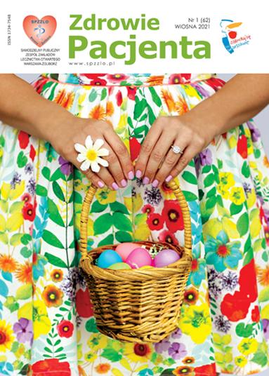 Wydanie kwartalnika Zdrowie Pacjenta wiosna 2021 roku