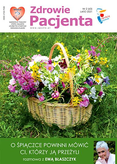 Wydanie kwartalnika Zdrowie Pacjenta lato 2021 roku