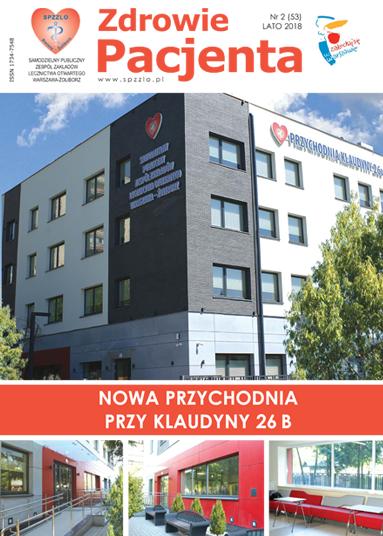 Wydanie kwartalnika Zdrowie Pacjenta lato 2018 roku