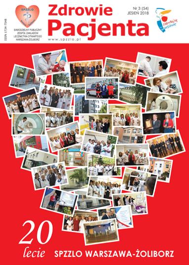 Wydanie kwartalnika Zdrowie Pacjenta jesień 2018 roku