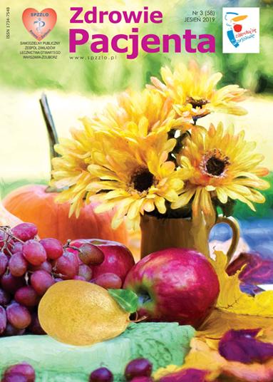 Wydanie kwartalnika Zdrowie Pacjenta jesień 2019 roku
